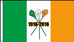 EASTER RISING 1916 - 2016 - 5 X 3 FLAG